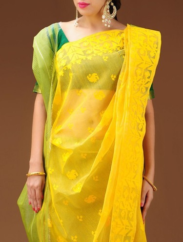 Dhakai Bangal cotton saree