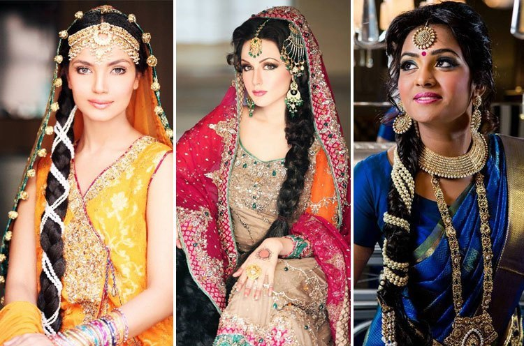 Brilliant 30 Indian Wedding Hairstyles For Picture Perfect Brides Hairstyles For Women Draintrainus