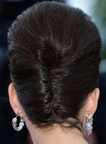 Short French Twist Style