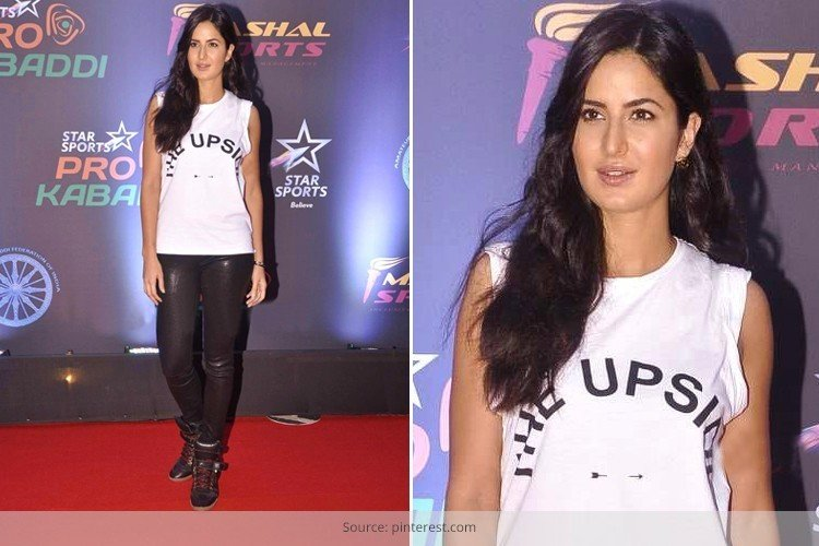 Katrina Kaif Looks In Shimmery Leggings and Boots