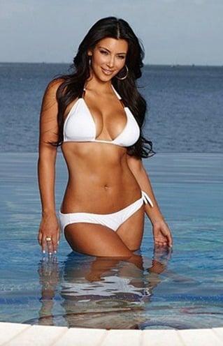 Kim Kardashian figure