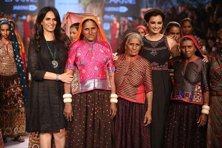 Lakme Fashion Week's Page By Anita Dongre