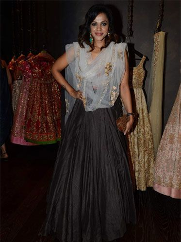 Manasi Scott At Shyamal and Bhumikas Wedding Collection
