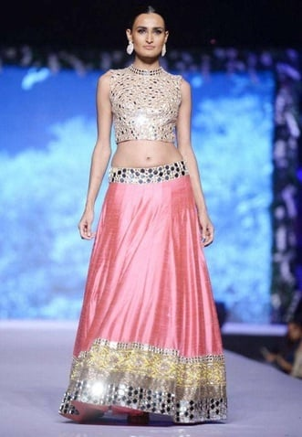 Manisha Malhotra mirror work designs