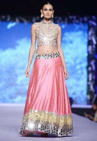 Manisha Malhotra mirror work designs