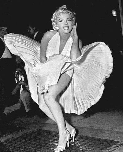 Marilyn Monroe fashion moments