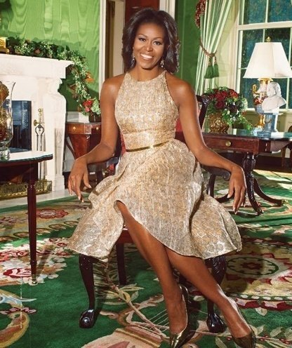 Michelle Obama Makes a Fashion Statement