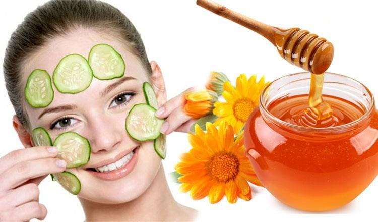 Honey and Cucumber for Face