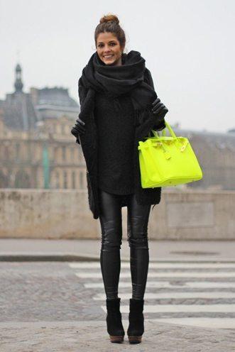 Neon Trendy Bags