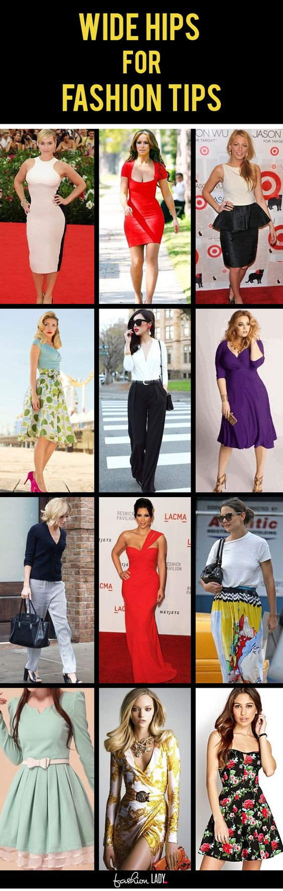 Fashion Tips For Wide Hips: What To And What Not To Wear For Wide Hips