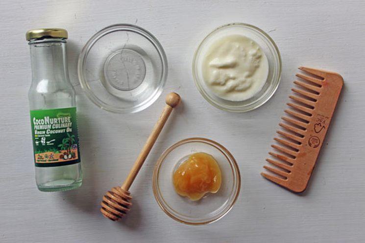 Yogurt Masks for curly hair