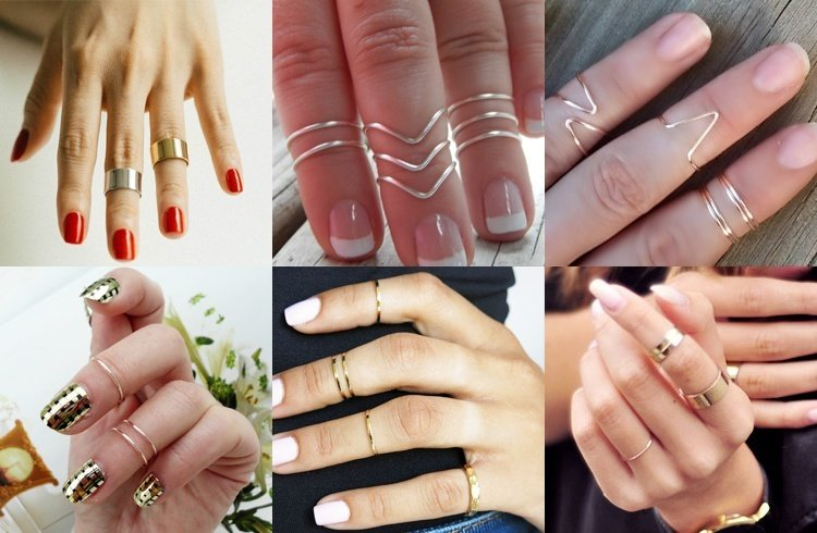 Diy knuckle rings,