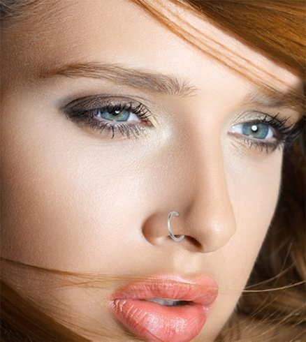 How To Apply Makeup Around A Nose Piercing