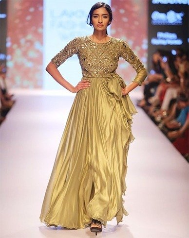 Arpita Mehta creations at LFW 2015