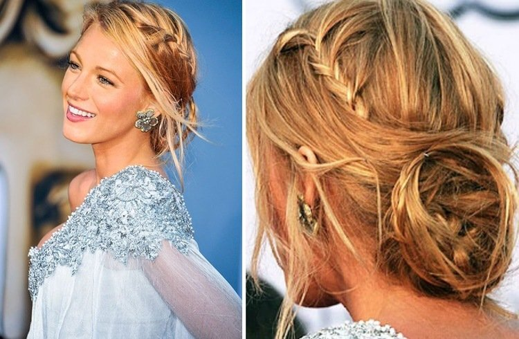 6 blake lively hairstyles that made us long for healthy long hair blake lively updo hairstyle urmus Image collections