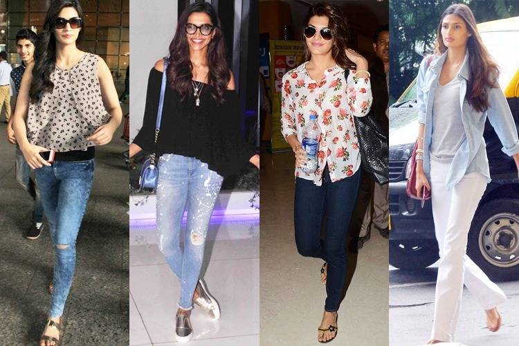 Bollywood Beauties in Denim