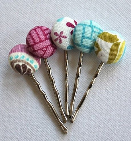 candy bobby pins