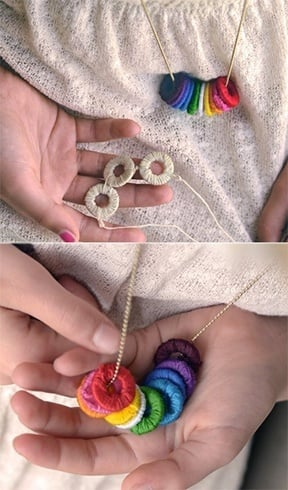 olor washer necklace