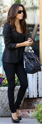 Eva Longoria In Black
