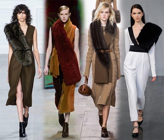 Faux fur color trends
