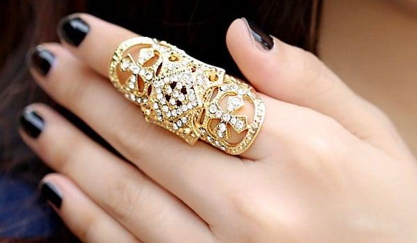 Full Finger Fashion Rings