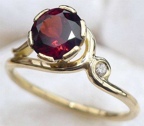 Garnet jewellery benfits