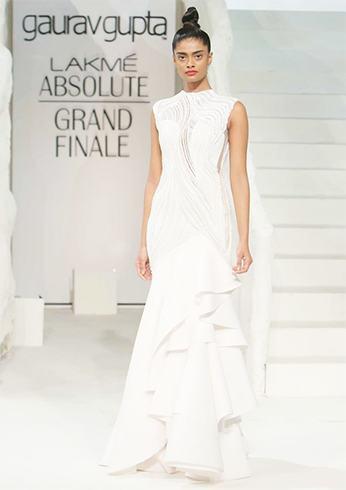 Gaurav Gupta white dress