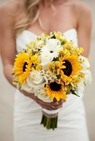 Gorgeous bridal bouquets