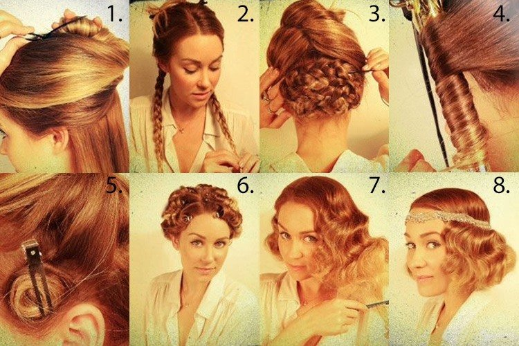 Great Gatsby Hair Tutorial