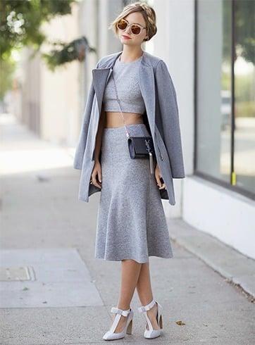 50 Shades Of Grey Fashion Ideas