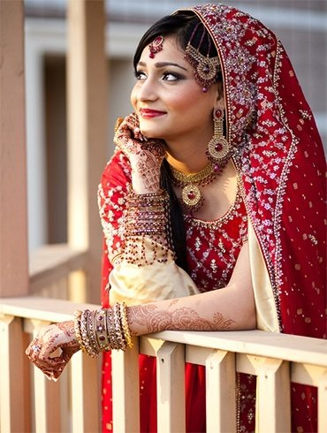 Hindu bridal photography poses