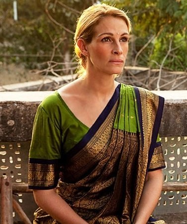 Hollywood Celebrities in Indian Wear
