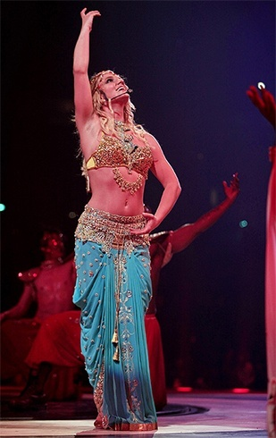 Britney Spears desi look