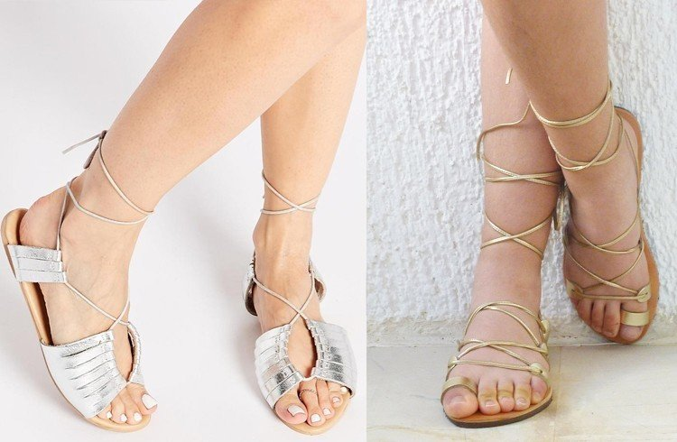 Sandals That Tie Up Your Leg