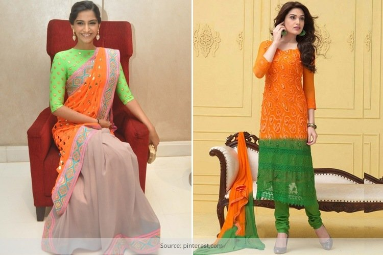 1be4d303cd Indian Wear Fashion For Independence Day – Beautiful And Patriotic .