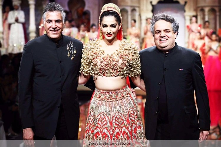 Abu Jani Sandeep Khosla Indian Bridal Fashion Week