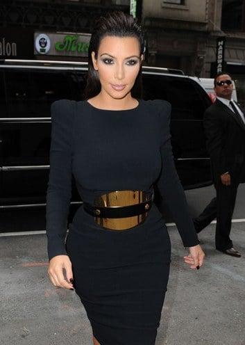 kim kardashian hourglass body