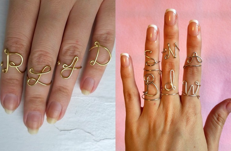 Knuckle Rings Are The Latest This Season