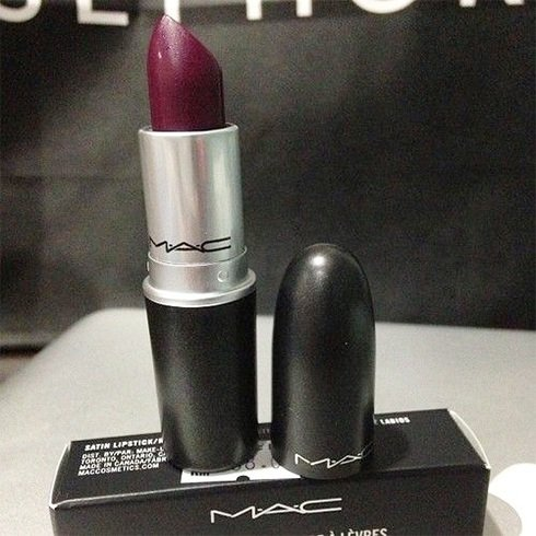 MAC dark lipstick