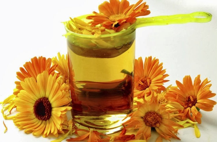 marigold tea benefits for skin