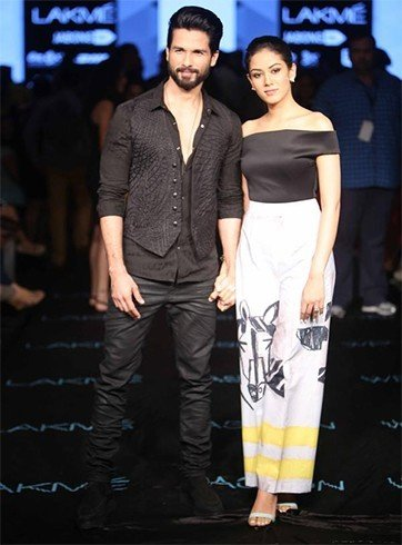 Shahid and Mira Rajput Masaba Gupta's show at LFW 2015