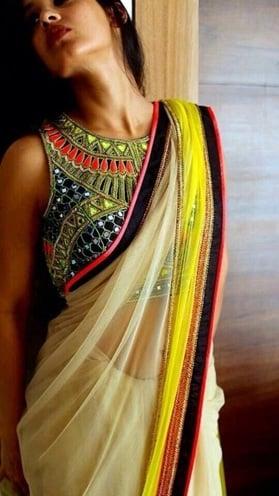 mirror work dresses for Durga Puja