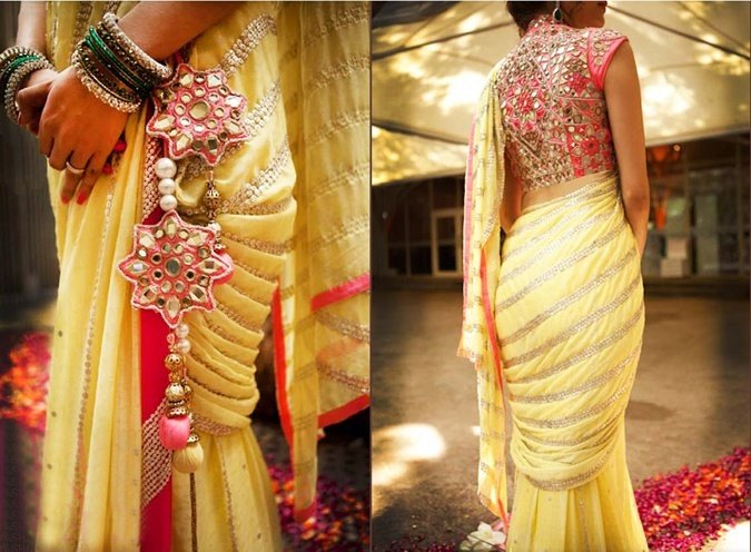 13 mirror work dresses are all the rage this season for Mirror work saree