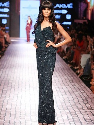 Monisha at Lakme Fashion Week