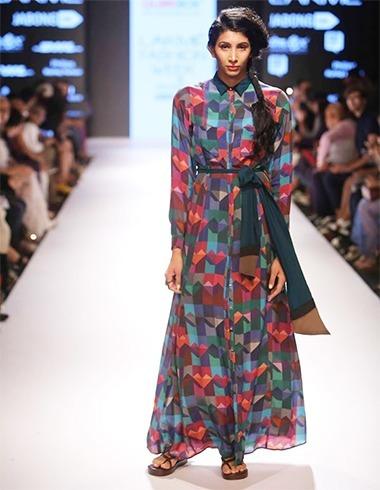 Mmulticolour dress
