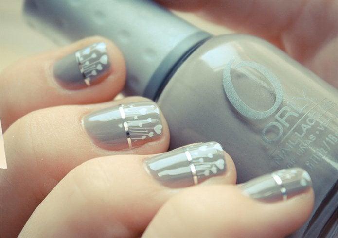 Nail art for wedding
