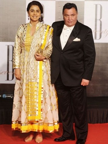 neetu sing in designer wears