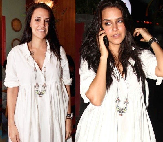 Neha Dhupia in Amrapali Jewellery