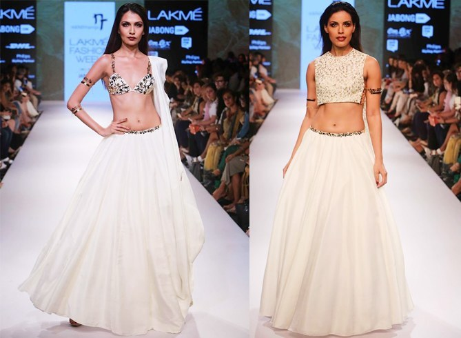 Nikhil Thampi desings at LFW
