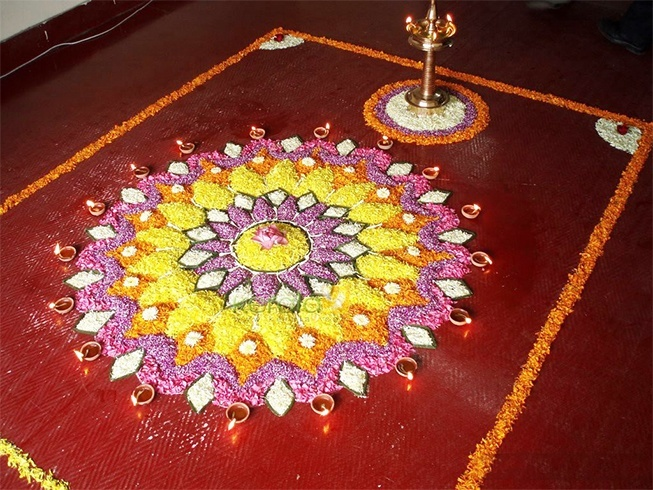 38 Onam Pookalam Designs To Adorn Your Homes This Onam 2017